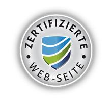Zertifizierte Web-Seite