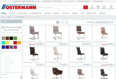 www ostermann de witten kommoden und anrichten im onlineshop des ostermann kaufen with www. Black Bedroom Furniture Sets. Home Design Ideas